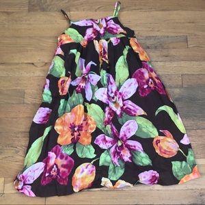 GAP FLORAL SUMMER MAXI DRESS 10